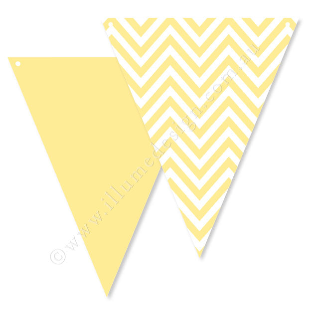 Chevron Yellow Bunting