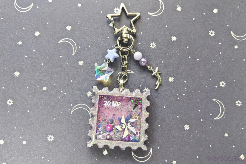 Ultranova Stamp Resin Shaker Charm