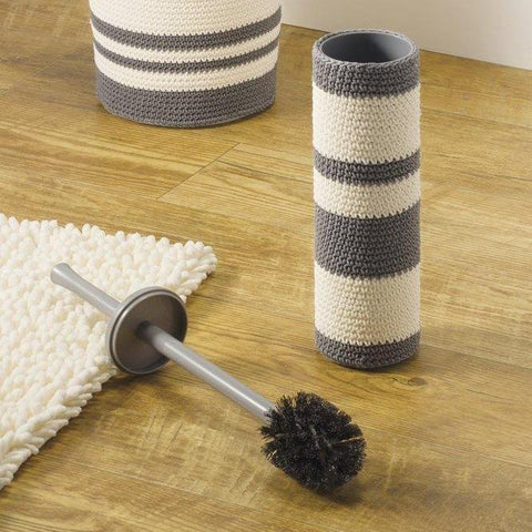 Knitted Toilet Brush & Holder