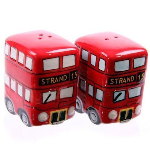 London Bus Salt & Pepper Set