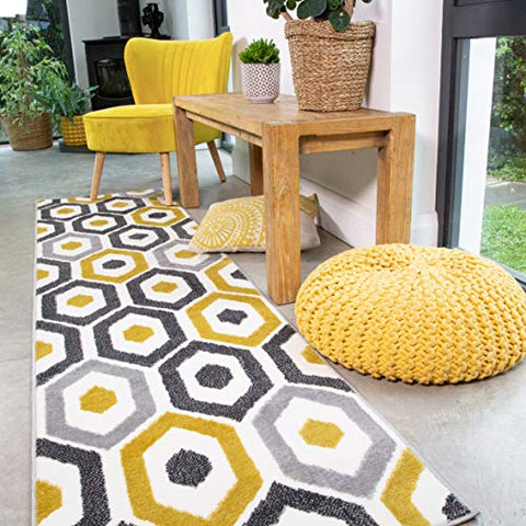 Repeat Honeycomb Rug