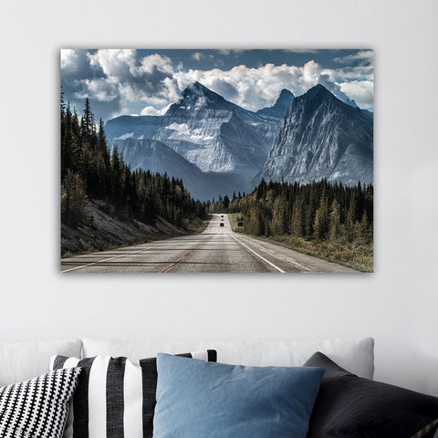 The Long Road Canvas