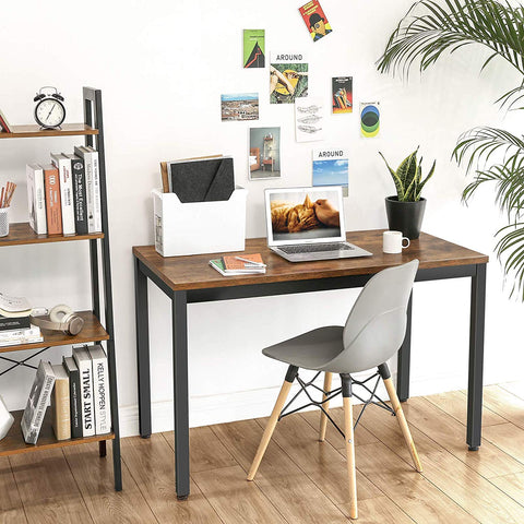 Rustic Brown Industrial Desk