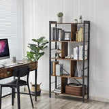 Rustic Industrial Bookcase
