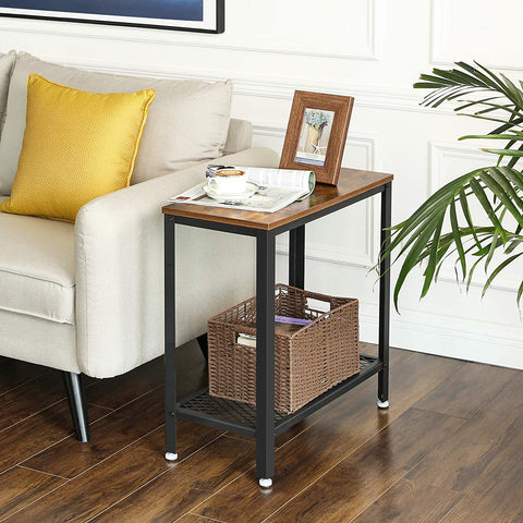Rustic Industrial Side Table