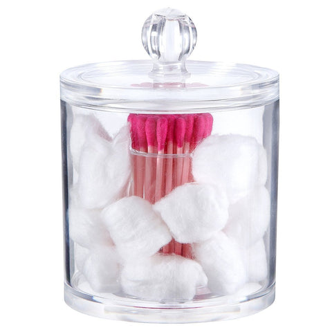 Round Cotton Buds and Balls Holder