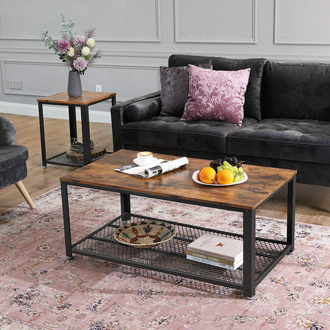 Rustic Industrial Coffee Table