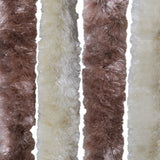 Brown-Beige Insect Curtain 100 x 220cm