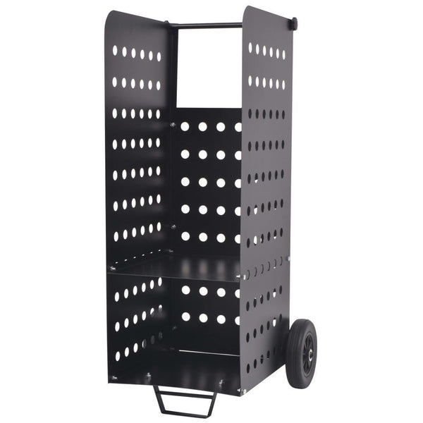 Firewood Cart with Plastic Wheels - 36x42x105 cm