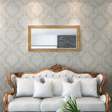 Gold Baroque Styled Wall Mirror 120 x 60 cm