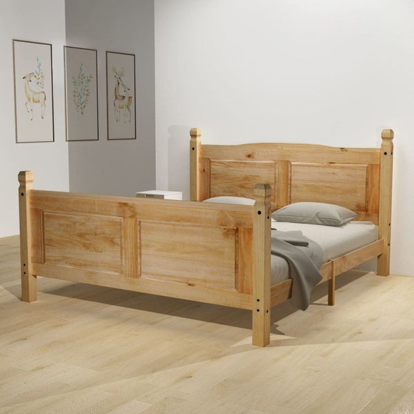 King Mexican Pine Bed Frame