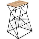 Solid Mango Wood Bar Stool