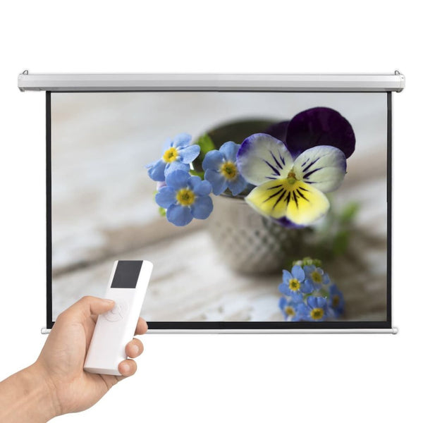 Electric Projector Screen with Remote Control 160x90 cm 16:9