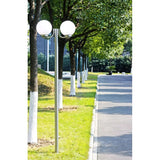 Garden Lamp Post - 2 Lamps - 220cm