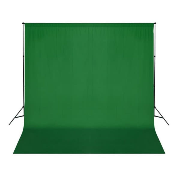 Green Backdrop 300 x 300 cm. Chroma key