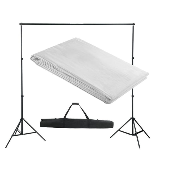 White Backdrop Support System 300 x 300 cm