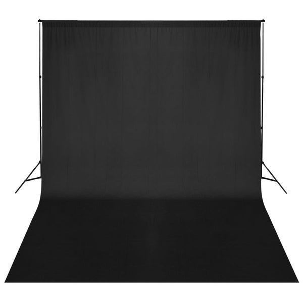 Black Backdrop Support System 500 x 300 cm