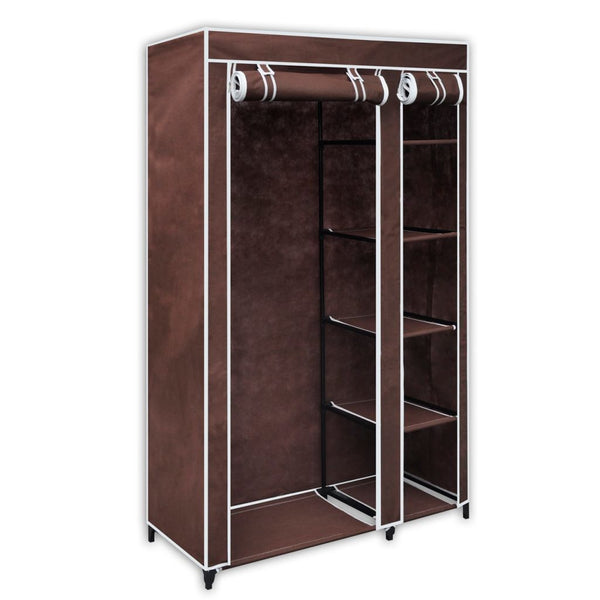 Brown Folding Wardrobe
