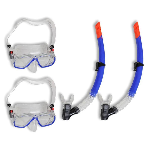 Diving Set Snorkel Mask for Adults - 2 Sets