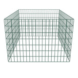 Square Mesh Garden Composter - 100 x 100 x 70 cm