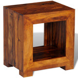 Solid Sheesham Wood Side Table