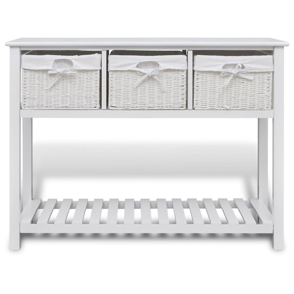 White Storage Sideboard
