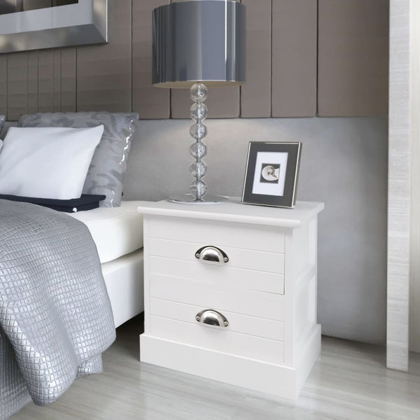 White French Bedside Cabinet