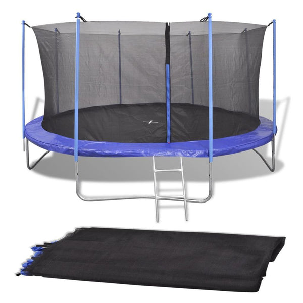 Safety Net PE Black for 4.57 m Round Trampoline