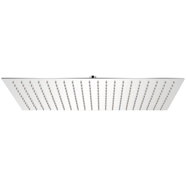 Stainless Steel Rectangular Rain Shower Head - 30 x 50 cm