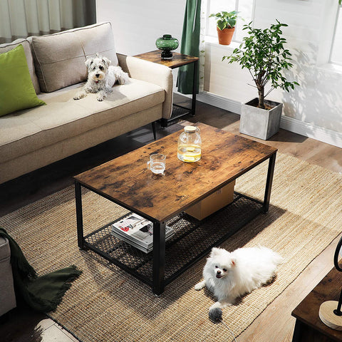 Rustic Mesh Coffee Table