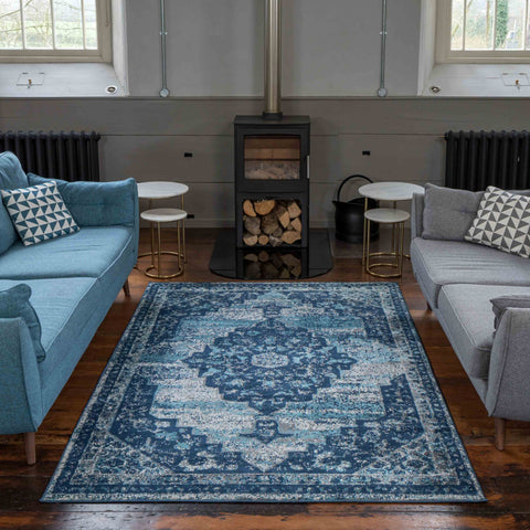 Blue Atlantis Rug
