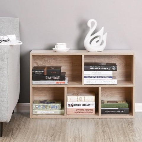 Oxford 5-Grid Bookcase