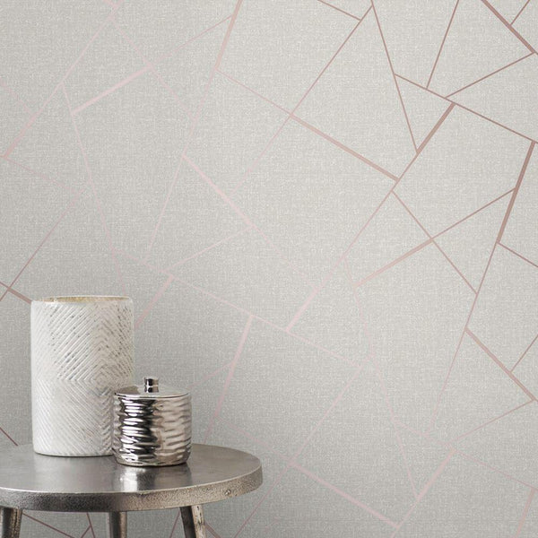 Metallic Grain Wallpaper