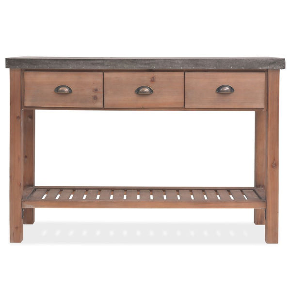 Solid Cramford Console Table