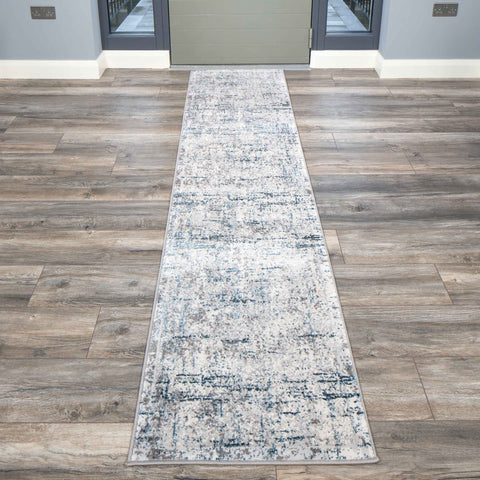 Blue & Grey Oxford rug