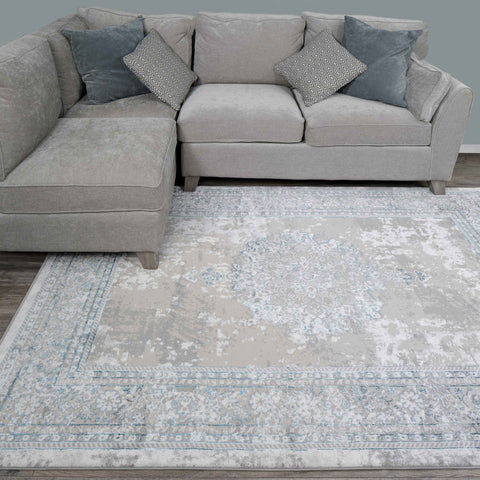 Blue Wellington Rug