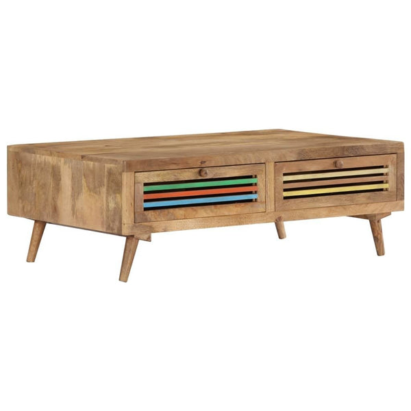 Solid Mango Wood Coffee Table