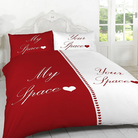 My Space / Your Space Duvet Set