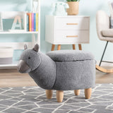 Fabric Alpaca Animal Stool