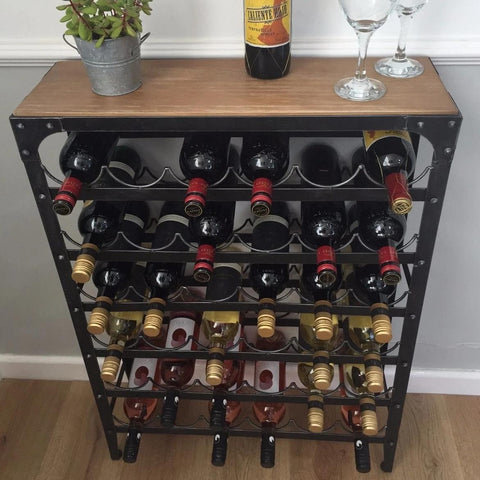 36 Bottle Artisan Wine Rack