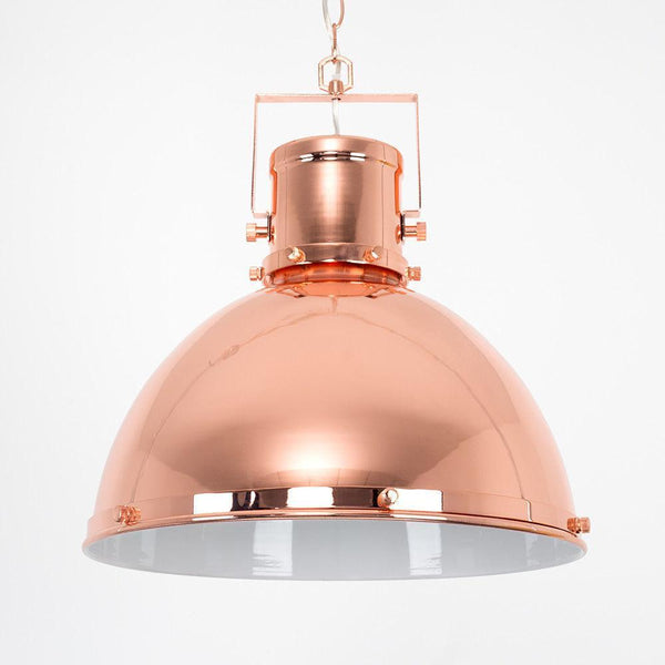 Copper Domed Ceiling Light