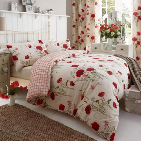Wild Poppies Duvet