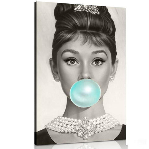 Audrey Hepburn Canvas