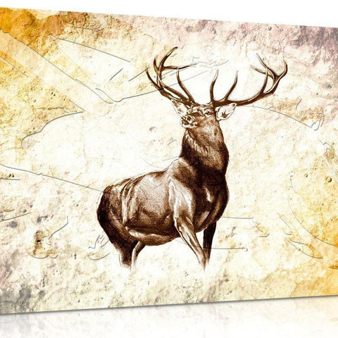 Forest Stag Canvas