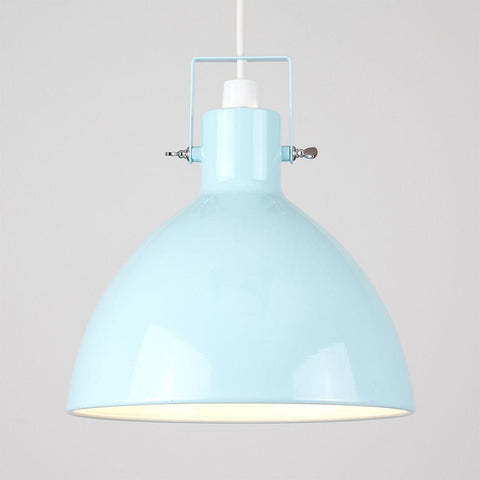 Coloured Industrial Light Shade