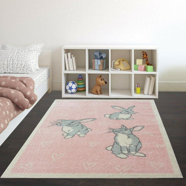 Cute Bunny Rabbit Rug