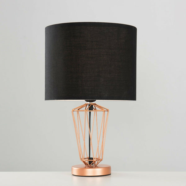 Copper Metal Wire Lamp
