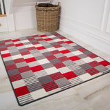 Red & White Oyo Rug