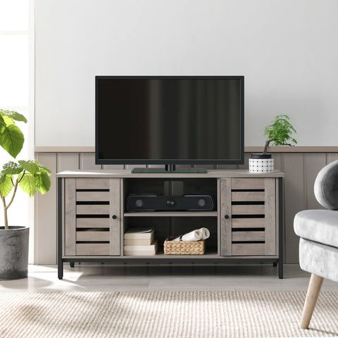 Arlo TV Unit with Side Cabinets