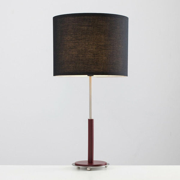Contemporary Burgundy Lamp